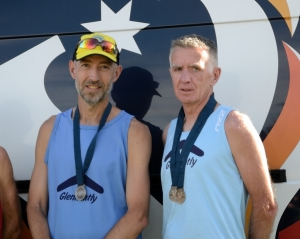 Mens 50+  2nd,  Andrew Ross and Joe Murphy